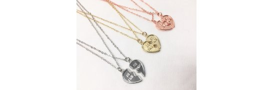 Best friends necklaces