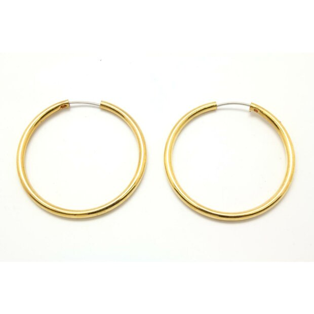 Ohrring gold/silber